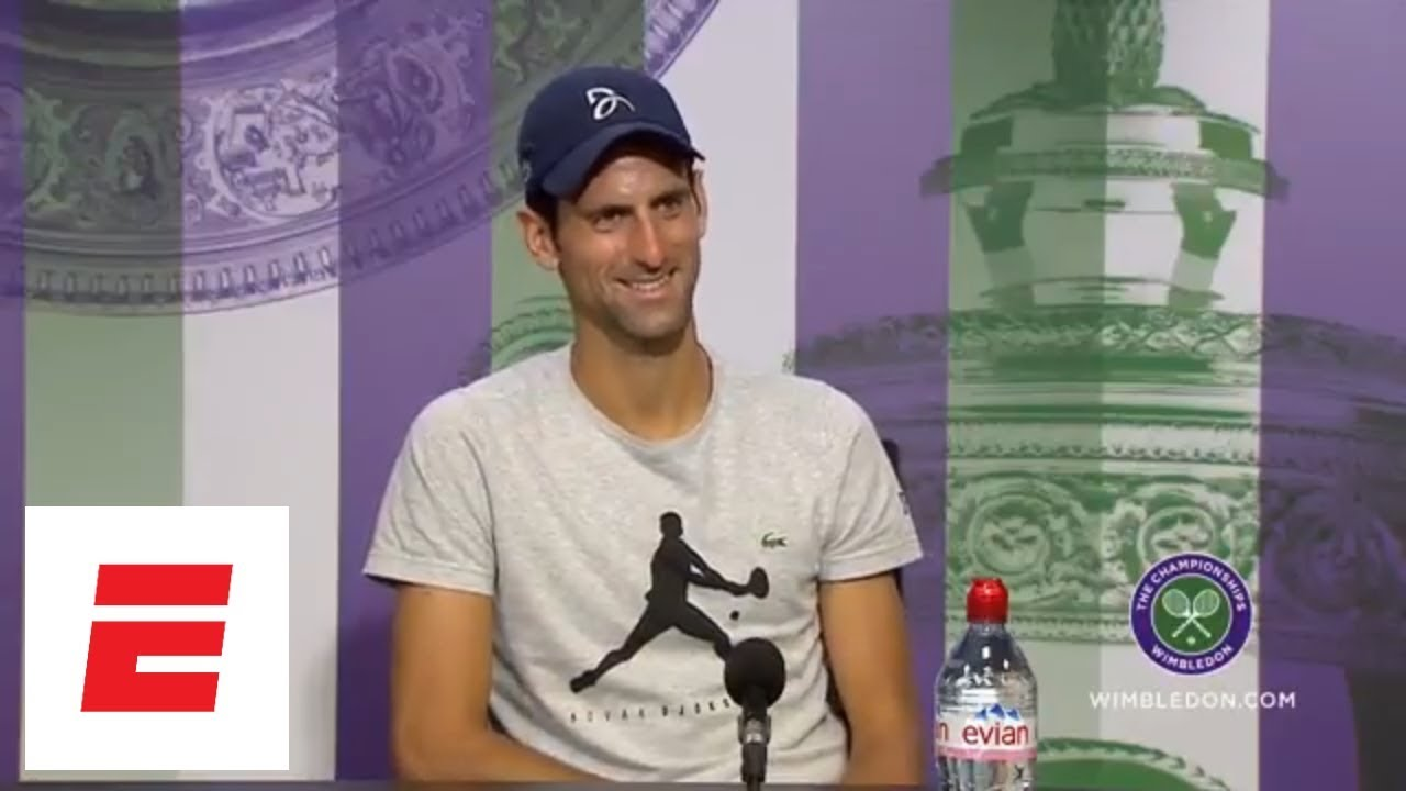 [FULL] Novak Djokovic post semifinal Wimbledon 2018 press conference | ESPN