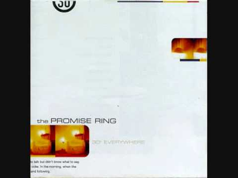 Promise Ring - Red Paint