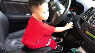 Baby Driver Car Keys Learning to Start Ride