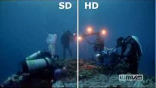 SD vs. HD in video resolution