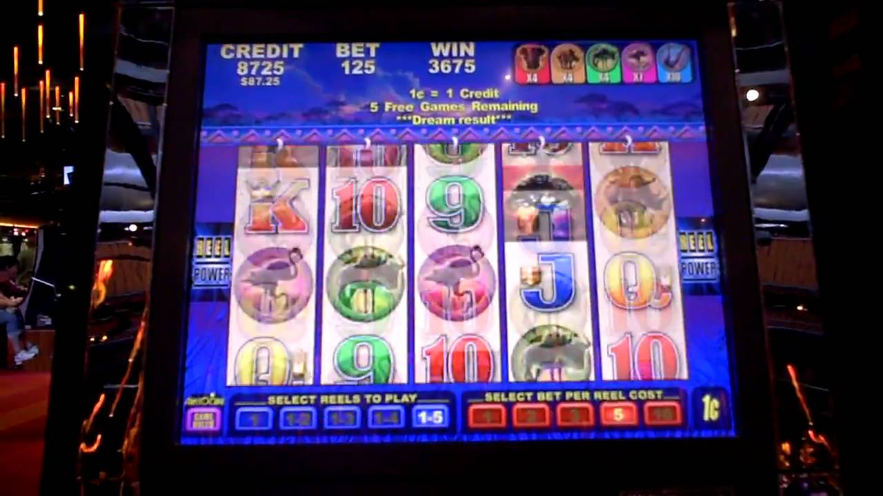 Watch slot machine