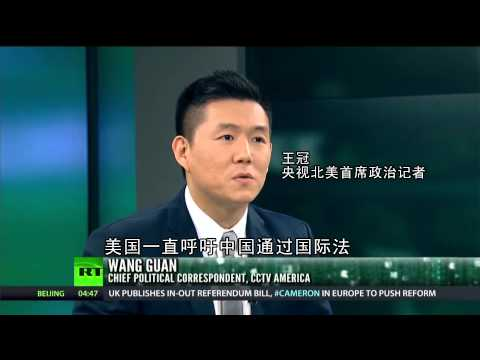 Russia Today talks with CCTV's Wang Guan on South China Sea