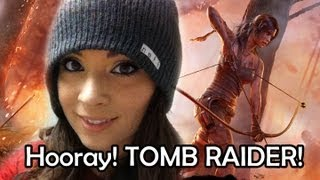 Zomg I played the Tomb Raider Demo at Comic Con!!