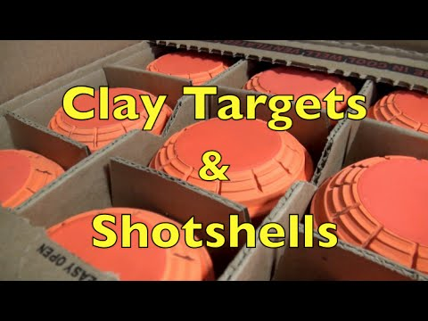 Clay Targets and Shotgun Shells