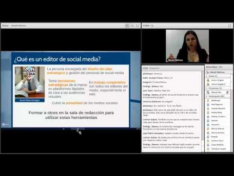 El editor de social media y el  tráfico a la web