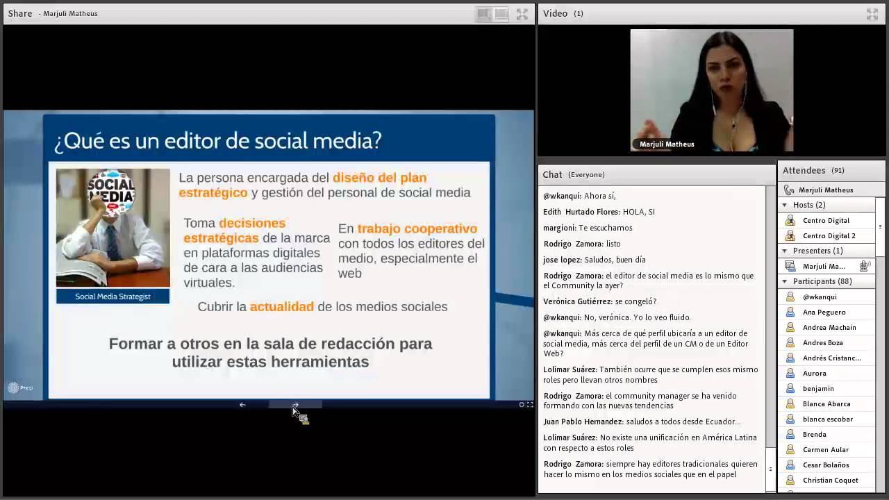 El peditor de social media y el  tráfico a la web