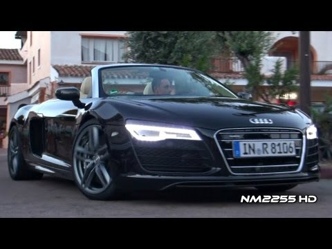 2013 Audi R8 V10 Plus Spyder Exhaust Sound