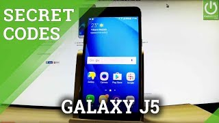 SAMSUNG Galaxy J5 (2016) CODES / Tricks / Advanced Options