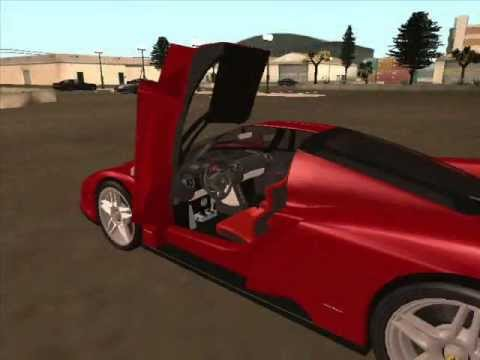 GTA San Andreas car mods