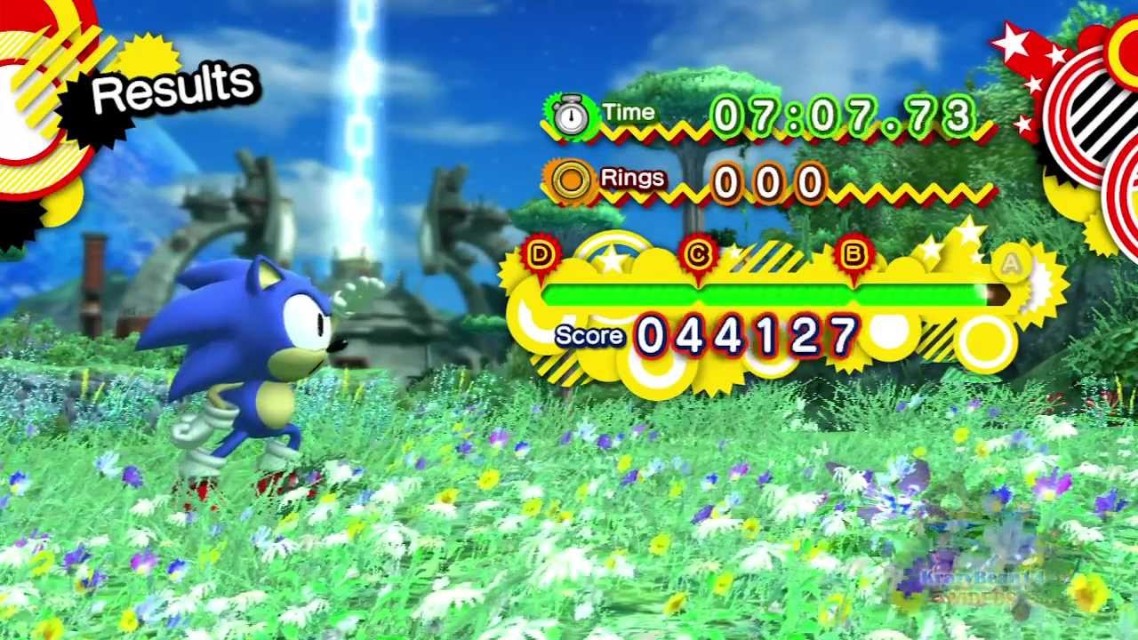 Sonic Generations Planet Wisp Red Rings