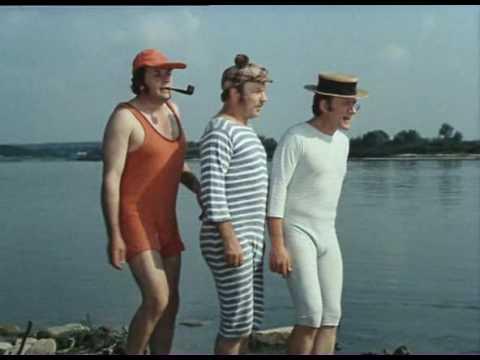 трое в лодке усатый капитан