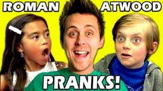 KIDS REACT TO ROMAN ATWOOD