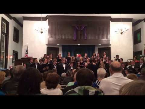 """We Wish You A Merry Christmas"" - Butler County High School Chamber Choir - Christmas 2013"