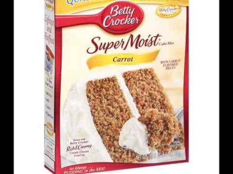 Green Shopping Market  Betty Crocker Carrot Cake Mix