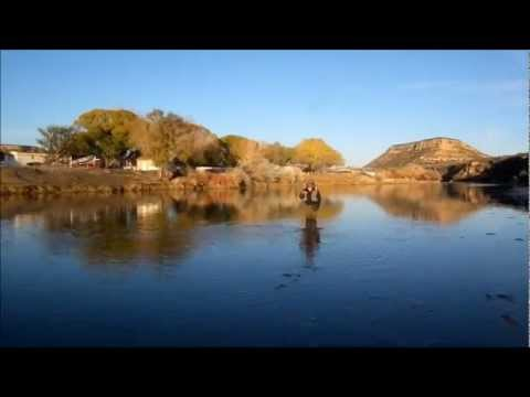 Fantastic Mayfly dry fly fishing the San Juan River New Mexico Nov 2011
