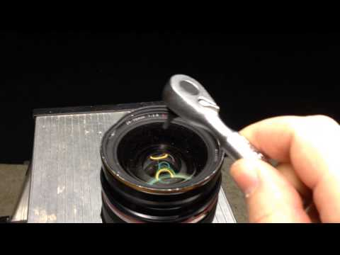 Canon EF 24-70 L L f2.8 / Zerstörung eines Canon EF 24-70 L L f2.8