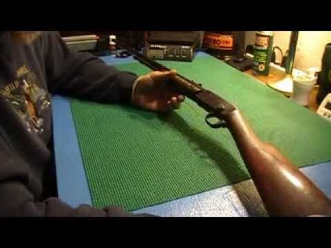 Remington Model 12 22 caliber rifle. Oldie but goodie