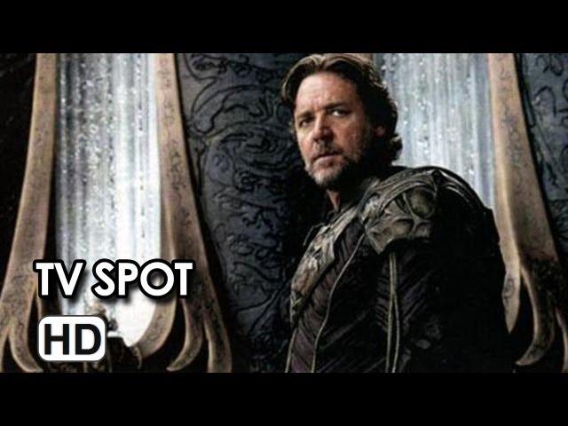Man of Steel TV Spot #9 - Henry Cavill, Russell Crowe HD