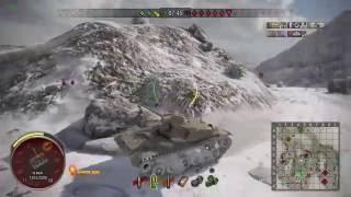 World of Tanks - PS4 - T110E5 11 KILLS 10k DAMAGE