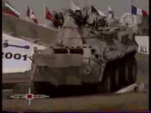 Украинский БТР 3У и американский БТР ЛАВ 25.Учения в ОАЭ.