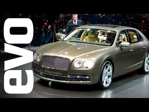 Bentley Flying Spur – 2013 Geneva motor show – evo magazine