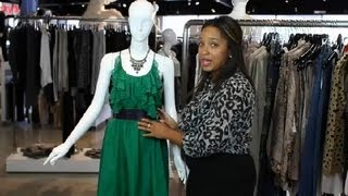 How to Accessorize an Emerald Green Dress : Fashion Stylings