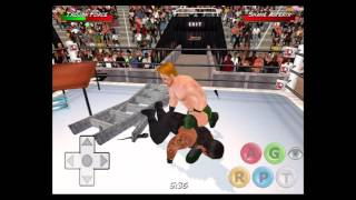 Roman Reigns vs Sheamus - WWE Tables, Ladders and Chairs - Wrestling Revolution 3D
