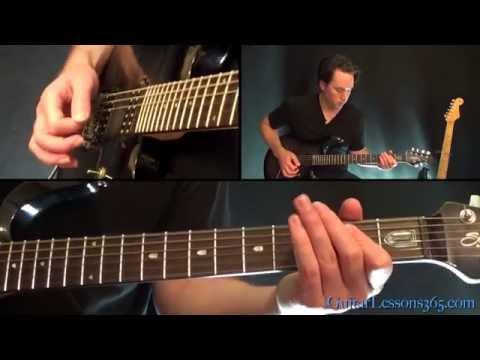 Civil War Guitar Lesson Pt.2 - Guns N' Roses - Electric Riffs and Verse Solos