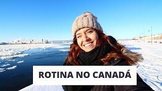 MINHA ROTINA NO CANADÁ 🇨🇦 E PRIMEIRO DIA DE AULA - INTERCÂMBIO EM QUEBEC CITY- HI BONJOUR