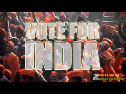Vote For India by Narendra Modi