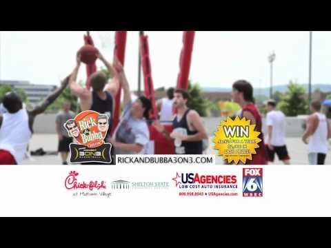 Rick and Bubba 3on3 Basketball Tuscaloosa 2012! Chick-fil-A @ Midtown Village