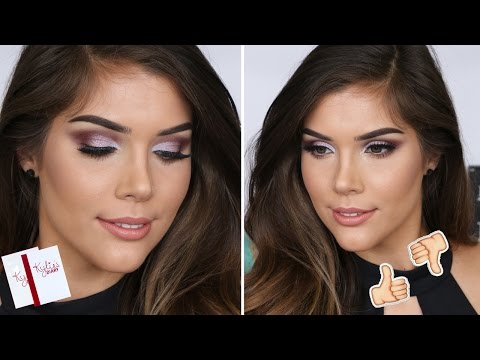 KYLIE'S DIARY GLAM MAKEUP TUTORIAL + REVIEW   Katerina Williams