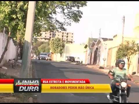 Moradores do Bairro Santa Rosa pedem mão única em ruas estreitas