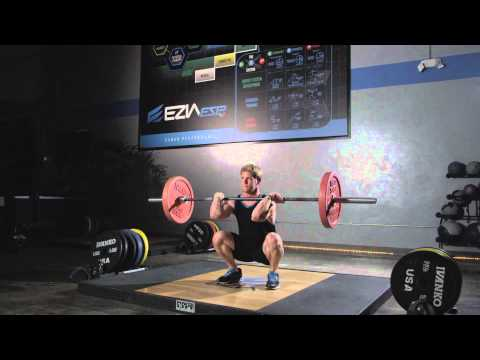 Power Clean, an EZIA Benchmark Exercise Image 1