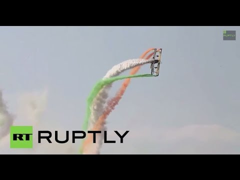 India: Aircrafts awe spectators at Asia's premier air show