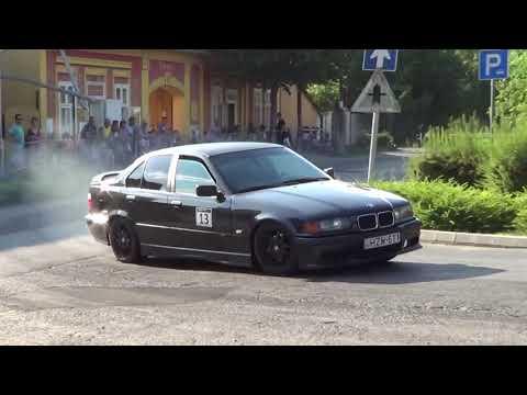 Csík Ádám  E36 325 Tótkomlós Rally 2017