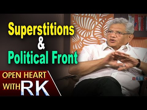 CPI(M) General Secretary Sitaram Yechury About Superstitions & Political Front | Open Heart With RK
