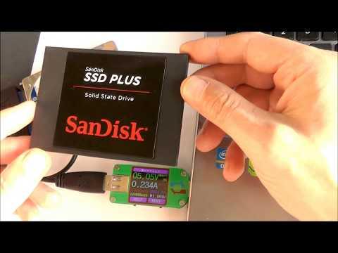 SSD vs HDD потребление электроэнергии, кто меньше? Внешний кабель для подключения: USB 3.0 к SATAIII