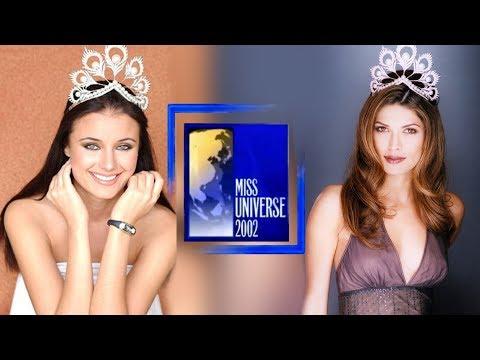 Miss Universe 2002 - Oxana Fedorova & Justine Pasek