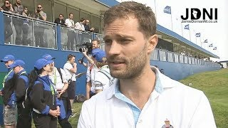 Jamie Dornan - DDF Irish Open - Local N. Ireland TV News Reports