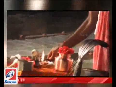 Ganga River Pollution Story-Sathiyam Tv Program.mov