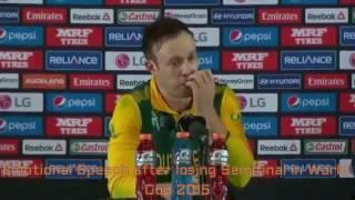 Sad and Emotional Moments in Cricket History updated    I Love Cricket   YouTube