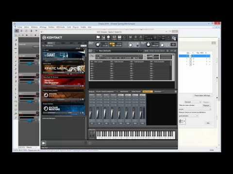 Finale Tuto 3c : Création d'une banque d'instruments dans Kontakt