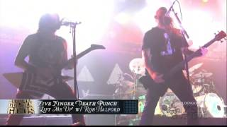Watch Five Finger Death Punch Lift Me Up (Ft. Rob Halford) video