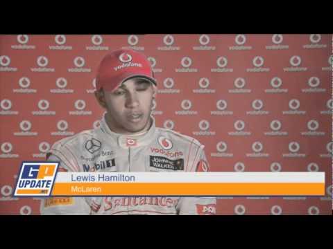 Button and Hamilton on Shanghai