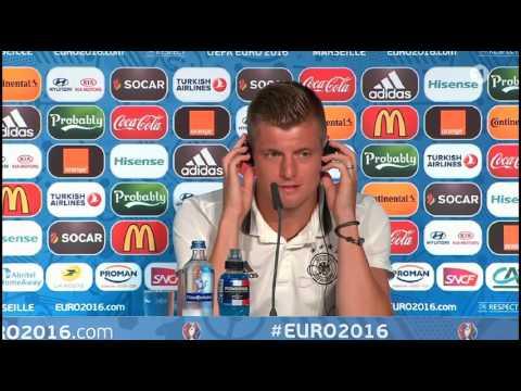 DFB Pressekonferenz – Toni Kroos & Joachim Löw 06/07/16