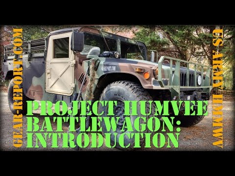 Project Humvee Battlewagon - US Army HMMWV - Intro - Gear-Report.com