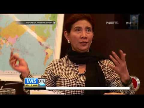 Susi Pudjiastuti Santai Hadapi Nahkoda Kapal Thailand yang Ditahan di Sabang - IMS
