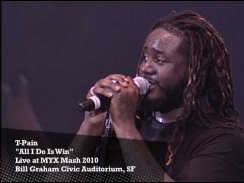 T-Pain - All I Do Is Win (Live @ Myx Mash)