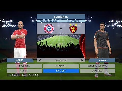 FC Bayern München vs Sport Recife, Allianz Arena, PES 2016, PRO EVOLUTION SOCCER 2016, PC GAMEPLAY, PCGAMEPLAY, Konami E-MAIL: BlackWidowGameTV@Gmail.com ----------------------------------...